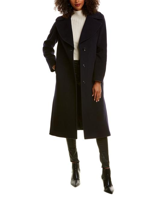 Cinzia Rocca Icons Long Wool & Cashmere-blend Trench Sr05001 Coat 14115583520002 Image 1