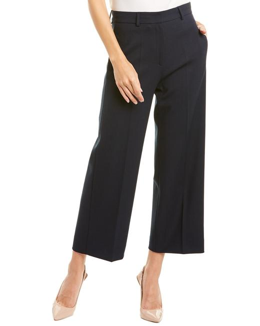 Piazza Sempione Wide Leg Wool-blend P P 015 56 9 Pants Piazza Sempione Wide Leg Wool-blend P P 015 56 9 Pants Image 1
