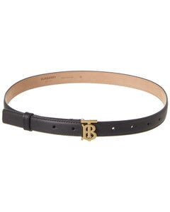Burberry Monogram Motif Leather 8023439 Belt