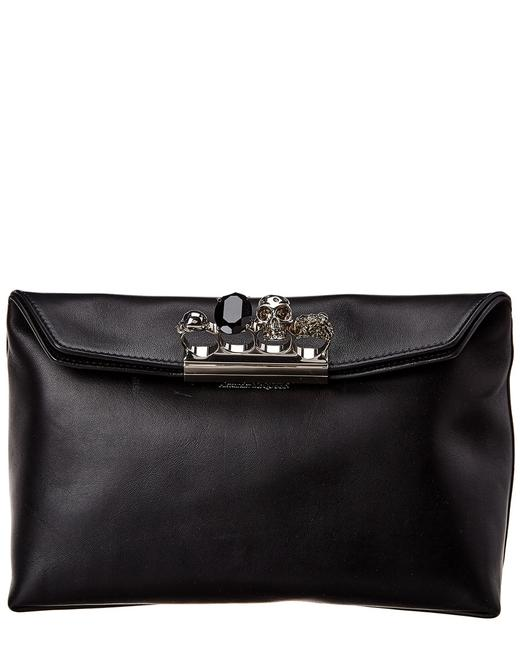 Item - Skull Four-ring Leather 631864 Csrwy Clutch
