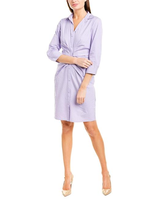 Vince Camuto Shirtdress Vc9m9515 Short Casual Dress Vince Camuto Shirtdress Vc9m9515 Short Casual Dress Image 1