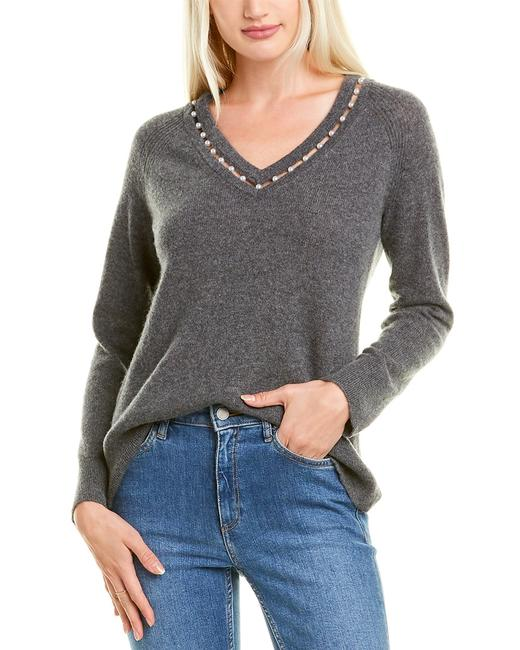 Hannah Rose Openwork Pearl Cashmere 0237rg Sweater/Pullover 14115770250000 Image 1