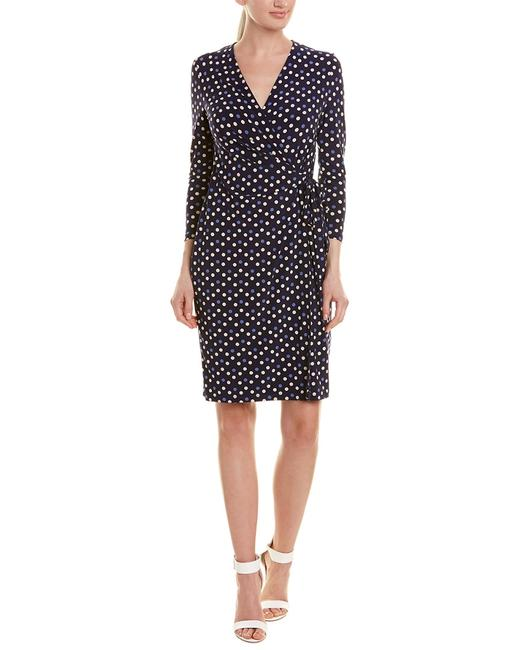 Anne Klein Wrap 10715280-2bj Short Casual Dress 10501707260004 Image 1