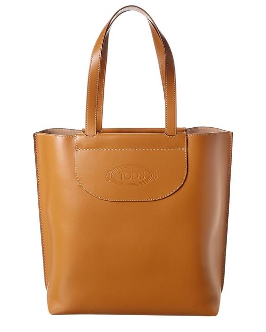 Tod's Holly Medium Leather Xxx Tote 11607226820000 Image 1