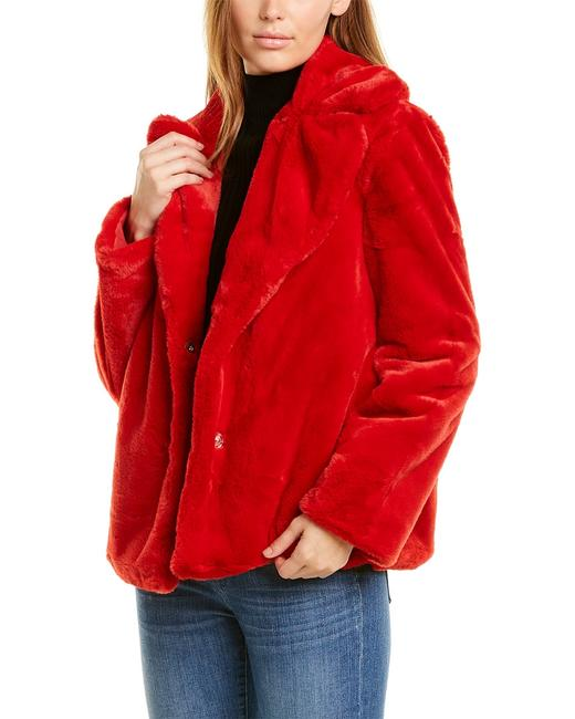 Kensie Reversible Plush Jacket U7521 Coat 14117165530000 Image 1