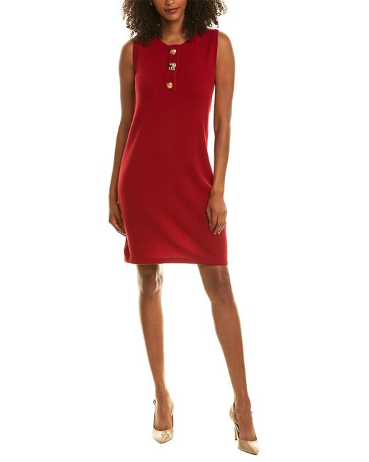 Magaschoni Placket Cashmere Sweaterdress Gm809112 Sweater/Pullover 14116866950001 Image 1