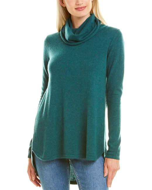 Forte Cashmere Cowl Pleat Cashmere Kor-36 Tunic 14118778740000 Image 1