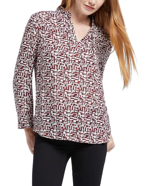 NIC+ZOE Falling Blocks Top F191636 Blouse 14117878450000 Image 1