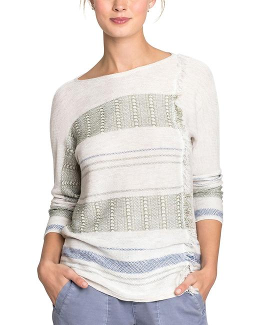 NIC+ZOE Linen-blend Top S181132 Sweater/Pullover 14117115440002 Image 1