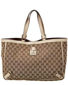 Gucci Pre-owned Brown Gg Canvas 6470-1 Tote