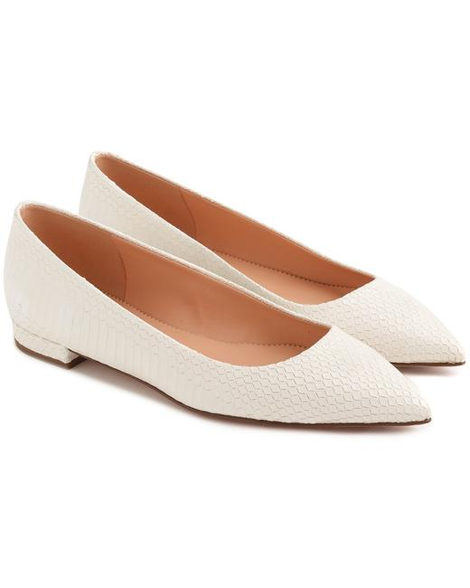 J.Crew Pointed Toe Leather K9478wt0002 Flats 13113174980004 Image 1