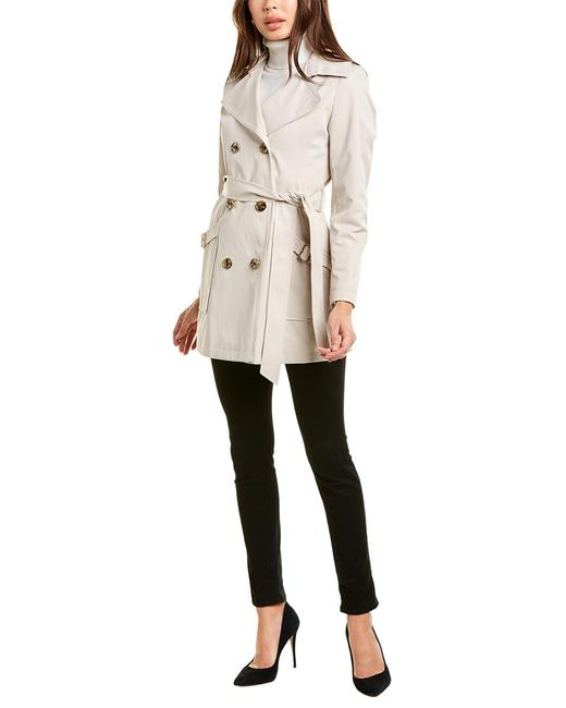 Item - Petite Belted Trench 06115p Coat