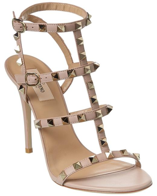 Item - Rockstud Caged 120 Leather Ankle Strap Tw2s0a27 Vod P45 Sandals