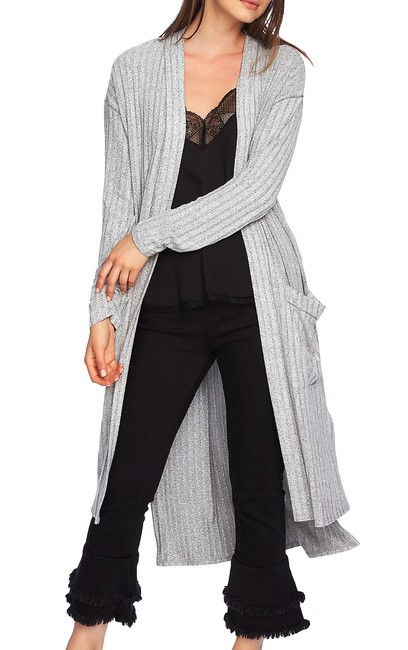 Item - Ribbed Duster Cardigan Sweater/Pullover