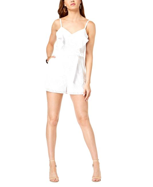 Guess Ruffled Eyelet Spaghetti Strap Romper/Jumpsuit Guess Ruffled Eyelet Spaghetti Strap Romper/Jumpsuit Image 1