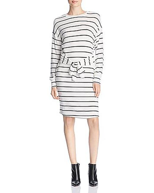 Item - Brushed Knit Tie Front Sweaterdress