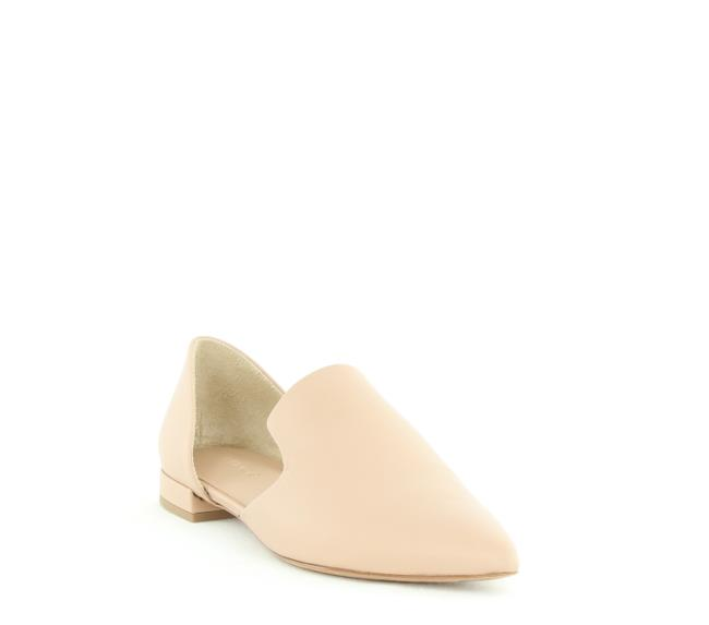 Item - Damris Two Piece Leather Loafer Flats