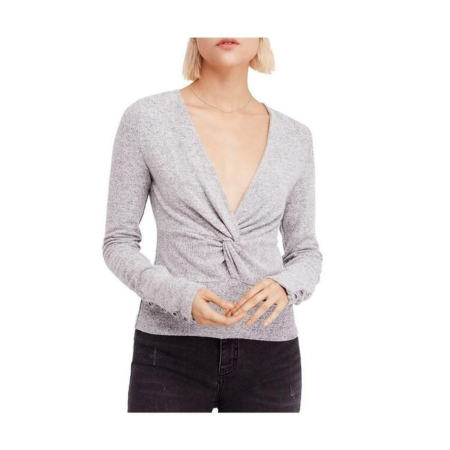 Item - All Types Of Twisted Plunging Neck Sweater/Pullover