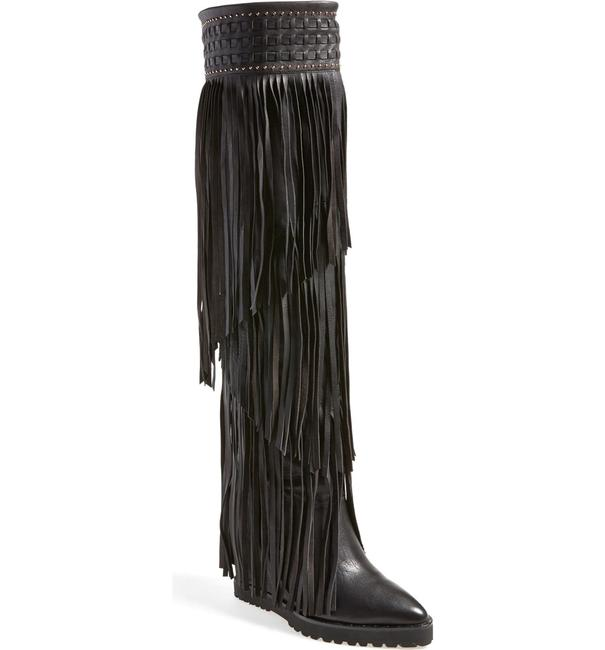 Item - Wild Tall Fringe Boots/Booties