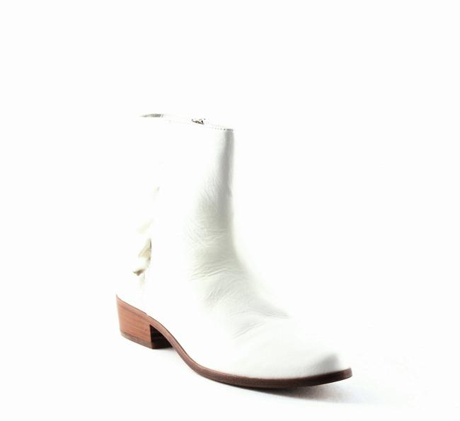Item - Laleh Ruffle Leather Boots/Booties