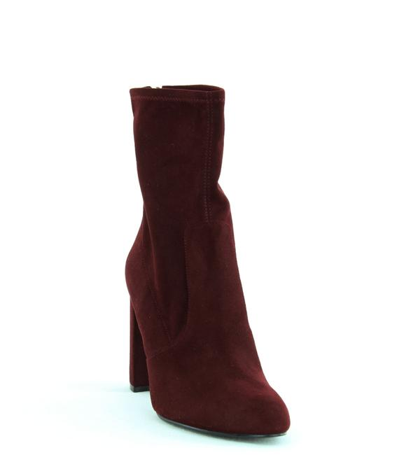 Item - Sayida Faux Suede Ankle Dress Boots/Booties