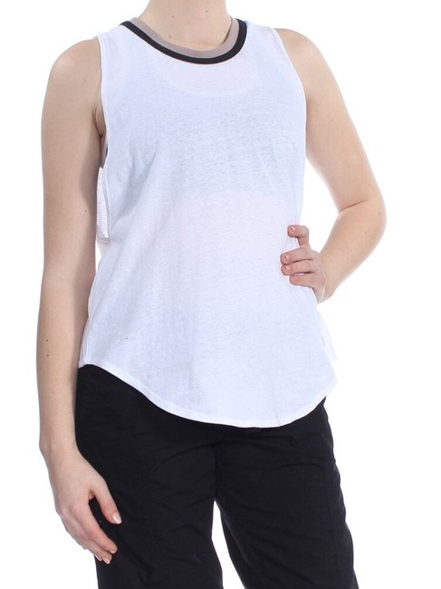 Item - Crew Neck Sleeveless Tank Top/Cami