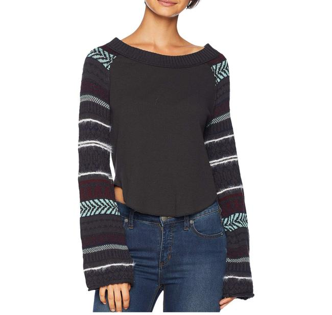 Free People Fairground Thermal Top Sweater/Pullover Free People Fairground Thermal Top Sweater/Pullover Image 1