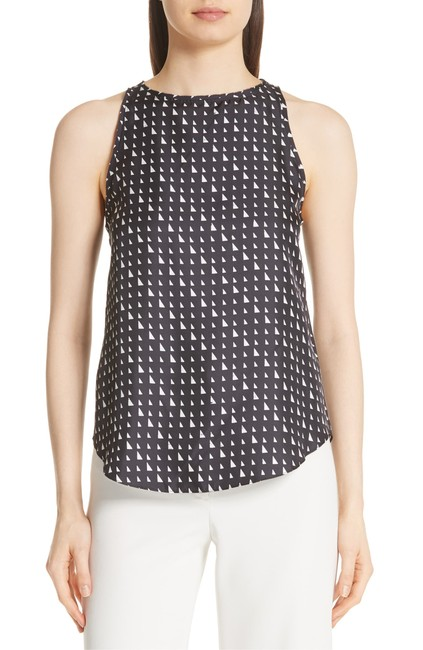 Item - Printed Silk Tank Top/Cami