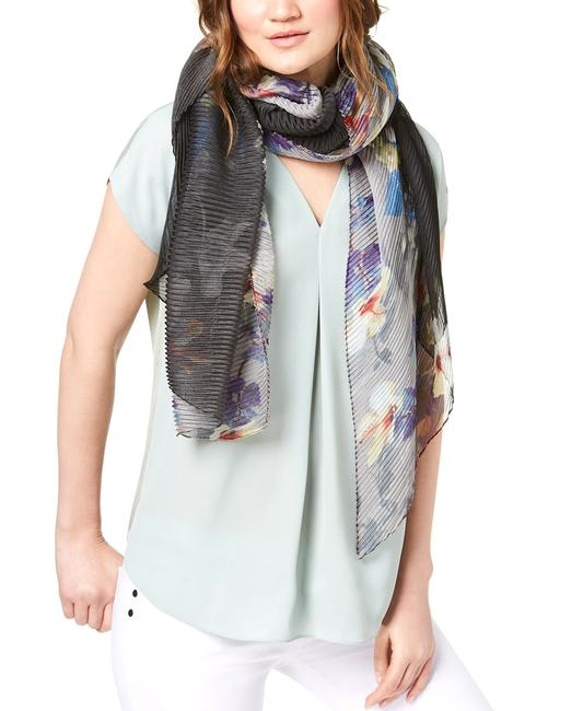 Item - Ombre Bloom Chiffon Orchid Bloom Scarf/Wrap