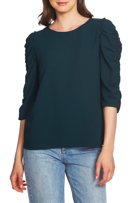 Item - Ruched Sleeve Blouse