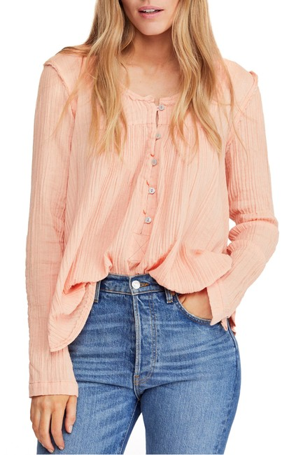 Free People Sand Dune Tunic Blouse Free People Sand Dune Tunic Blouse Image 1