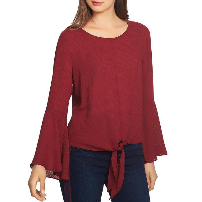 1.STATE Tie-front Bell Sleeve Blouse 1.STATE Tie-front Bell Sleeve Blouse Image 1