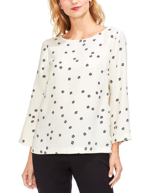 1.STATE Re-set Ditsy Side Button Top Blouse 1.STATE Re-set Ditsy Side Button Top Blouse Image 1