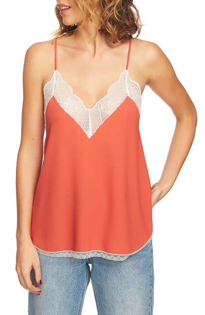 Item - Lace-trimmed Camisole Top Blouse