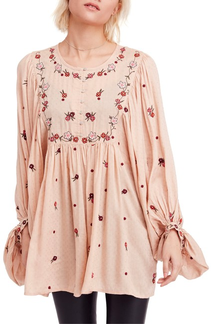 Free People Kiss From A Rose Blouse Free People Kiss From A Rose Blouse Image 1