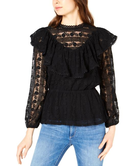 Item - Long Sleeve Woven Top Blouse