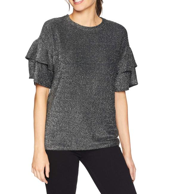 Item - Elevated Double Ruffle Sleeve Top Blouse