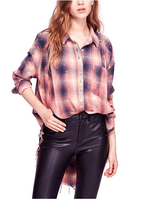 Item - Take On Me Studded Button Up Blouse