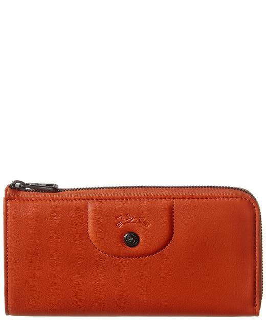 Longchamp Pliage Cuir Leather Zip Around L3418 757 290 Wallet 11114509840000 Image 1