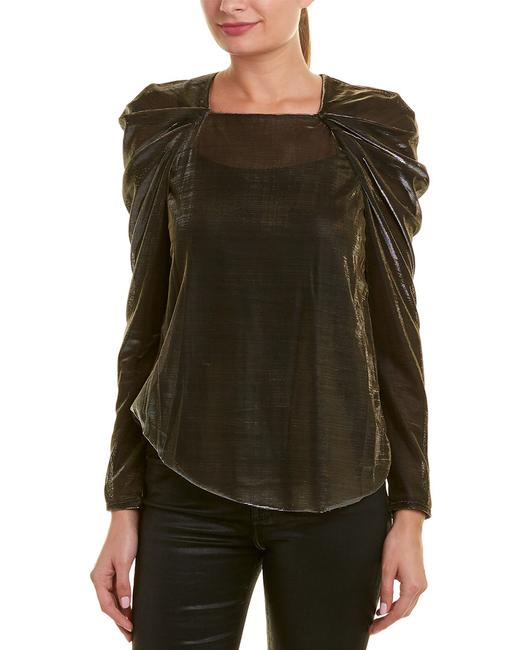 Item - Draped Shoulder Top Aox14a81-028 Blouse