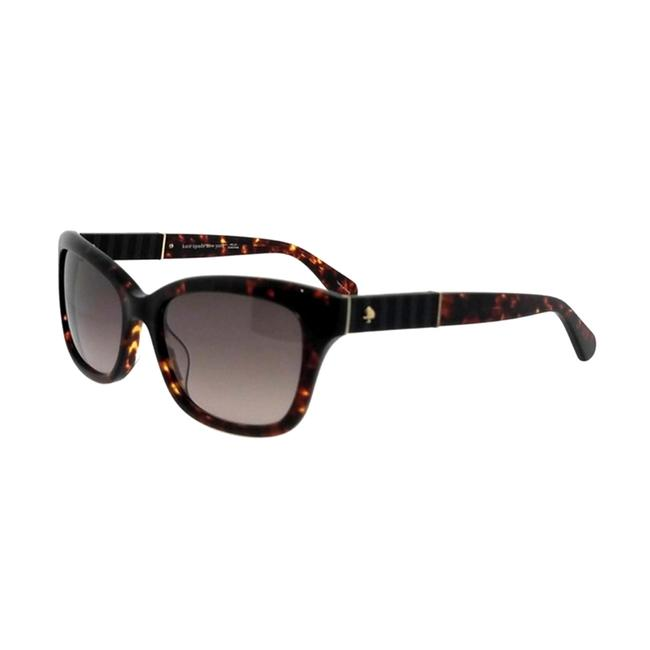 Item - Women's Johanna 2s Rectangular Dark Havana Sunglasses