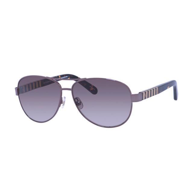 Item - Women's Dalia/S Metal Aviator Brown Havana Sunglasses
