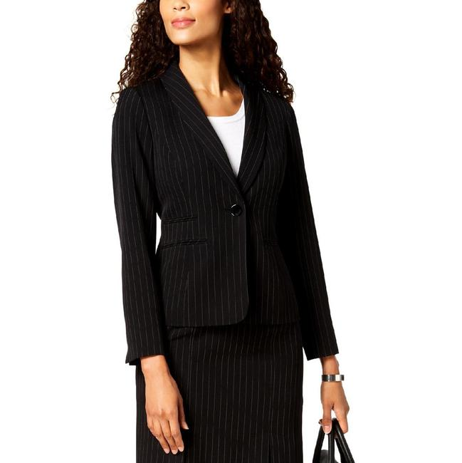 Item - One-button Pinstriped Jacket