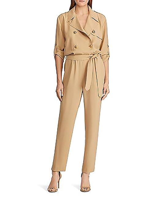 Item - Double-breasted Belted Romper/Jumpsuit