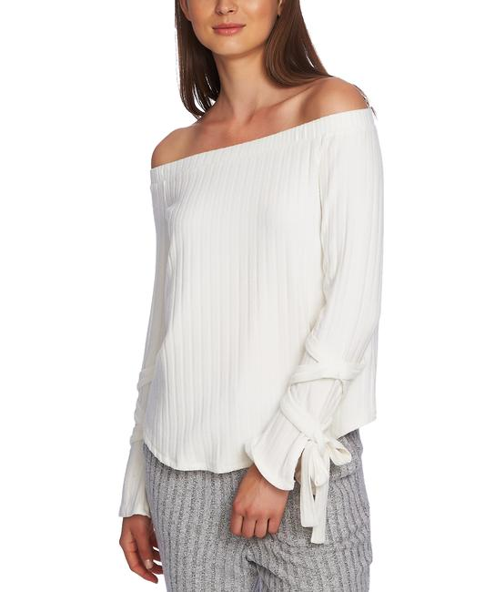 Item - Cozy Off-the-shoulder Tie-sleeve Top Blouse