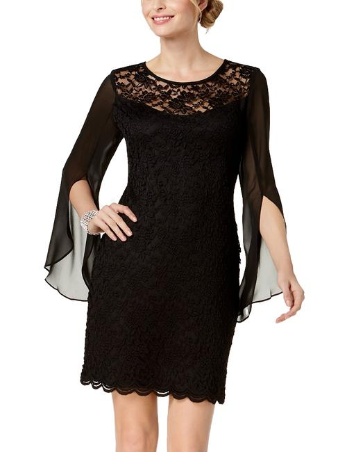 Item - Lace Chiffon Sheath Dress