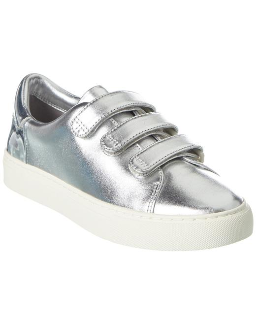 Tory Burch Colorblock Strap Leather Sneaker 43427-053 Athletic 13115478960004 Image 1