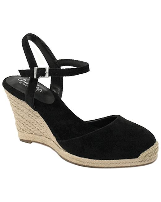 Charles by Charles David Suede Sherpa Wedges 13115263630006 Image 1