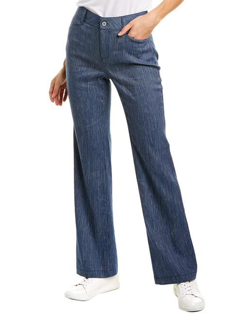 Item - Linen-blend Mpsd2219 Trouser/Wide Leg Jeans