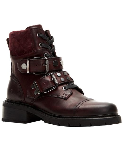 Item - Samantha Leather Hiker 3470912-plu Boots/Booties